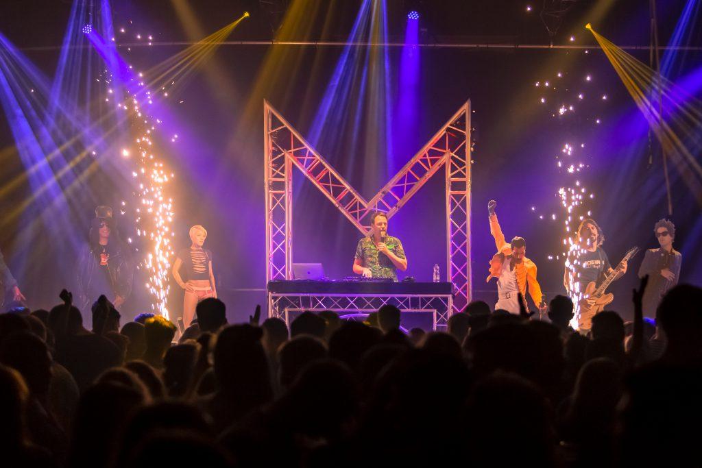 Marcel Meijer, DJ, The M-Show
